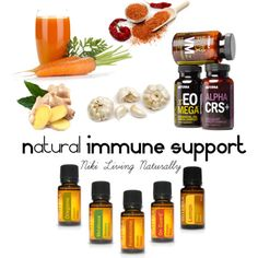 Natural Immune Support begins with proper nutrition, supplements, and essential oils! This is my secret recipe for seasonal support for those times when you need extra support! Combine fresh organic carrot juice, ginger, garlic and cayenne pepper into the blender for a spicy and powerful immune boost! Take your LLV supplements and use this combo of essential oils (2 drops of each in a veggie cap 3-4 times p/day) and gets lots of rest and fluids! #doterra #essentialoils #immunesupport…