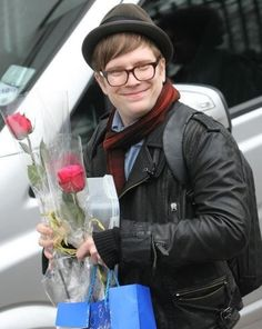 Patrick Stump / Fall Out Boy .. wish those flowers were from me