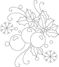 """Machine Embroidery Designs Christmas Redwork embroidery design~kinshipkreations - Think I'll start to save these for that """"someday"""" red quilt. Christmas Embroidery Patterns, Hand Embroidery Patterns, Vintage Embroidery, Embroidery Applique, Machine Embroidery Designs, Embroidery Stitches, Machine Applique, Applique Designs, Jean Embroidery"""
