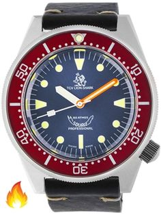 Squale 500 meter Professional Swiss Automatic Dive watch with Sapphire Crystal #1521-026-TGV