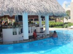 Damn this swim up bar looks even better....Hard Rock Hotel  Casino Punta Cana