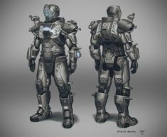 Utility Armor by hunterkiller on DeviantArt