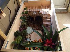 Almost complete! Tortoise enclosure. :)