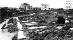 Üzerine İstanbul Radyosu ve birçok otel inşa edilmeden önce Elmadağ Surp Agop Mezarlığı böyle görünüyordu