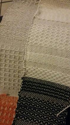 Amostra de tecido de linho e algodão.