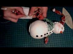 Елена Диденко - Текстильный снеговик - YouTube