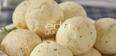Edu-guedes-Pão de queijo.Dica do Edu: especial para as pessoas alérgicas à leite ou intolerantes à lactose.