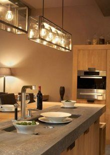 Ideas Para Crear La Cocina De Tus Sue Os Lights Over Islandkitchen