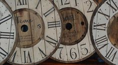 Spool Clock Workshop - Ladysmith, BC | Roundtown