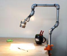 Pipe Led Desk Lamp