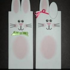 easter bunny candy wrappers
