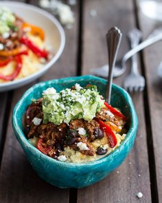 Easy Chicken Tamale Burrito Bowls - Half Baked Harvest