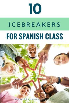 Icebreakers in Spanish Class: low-key, low-stress games to welcome students and establish community. Start the year with fun and good rapport, all in the target language. #spanishclass #spanishlessonplans #spanishsongs #backtoschool #firstweekofspanish #teachspanish #spanishteachers #flteach #spanishgames #interactivenotebooks #icebreakers #icebreakersforteens