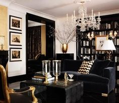 Art-Deco Style-Möbel Design-Luxus Ralph Lauren Home