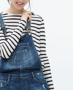 ZARA - TRF - PETO DENIM