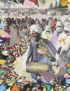 Hisham Bharoocha Artwork - Music Comes From Within, 2006