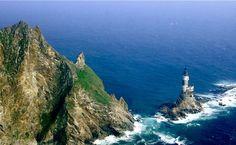 Aniva Rock Lighthouse - Sakhalinskaya Oblast, Russia