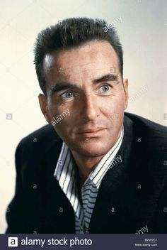Download this stock image: MONTGOMERY CLIFT ACTOR (1964) - BPW2C7 from Alamy's library of millions of high resolution stock photos, illustrations and vectors. Old Hollywood Actors, Hollywood Stars, Classic Hollywood, Montgomery Clift, Comic Book Superheroes, Actor Picture, Hooray For Hollywood, Elizabeth Taylor, Celebs
