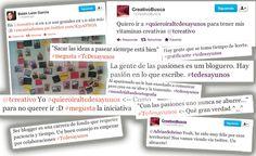 """""""Los bloggers son gente con una fuerte personalidad que sacan sus ideas a pasear"""" publicado por Eduardo Prádanos"""