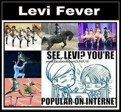 Levi is popular!!😂😂😍😍