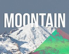 """Check out new work on my @Behance portfolio: """"MOONTAIN - The perfect Union."""" http://on.be.net/1LWGk51"""