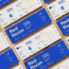 Red Room is a housing event focused on the provision of social and affordable housing and the development of sustainable communities. Check the full project on our portfolio! Brochure Layout, Brochure Design, Branding Design, Logo Design, Graphic Design Layouts, Web Design, Layout Design, Construction Business Cards, Ticket Design