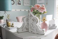 Vintage corbels from Lumber & Lace