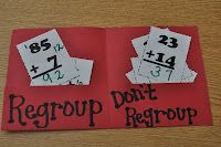 Don't Regroup and Regroup from Step into 2nd Grade with Mrs. Lemons.