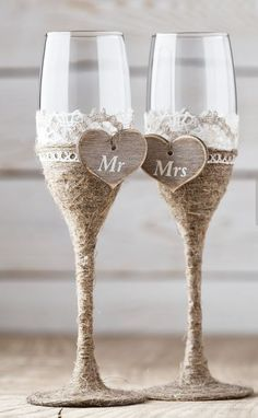 Wedding Toasting Glasses Rustic Toasting Flutes Wedding Champagne Flutes Bride and Groom Wedding Glasses Bridal Shower Gift Wedding Toasting Glasses, Toasting Flutes, Rustic Wedding Glasses, Champagne Glasses, Diy Wedding Champagne Flutes, Wedding Groom, Wedding Gifts, Wedding Rustic, Wedding Card