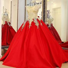 Cheap quinceanera dresses, Buy Quality dresses quinceanera dresses directly from China quinceanera party dresses Suppliers: Princess Luxury Red Prom Ball Gown Dress Long Gold Appliques Royal Robe De Soiree Bride Banquet Party Quinceanera Dresses Cheap Formal Dresses, Cheap Gowns, Red Ball Gowns, Ball Gowns Evening, Evening Dresses Plus Size, Cheap Evening Dresses, Gala Dresses, Ball Gown Dresses, Pretty Quinceanera Dresses