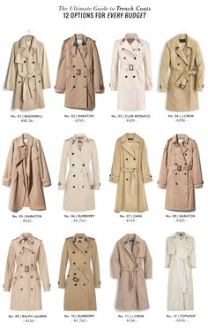 As far as coats go (and particularly Spring outerwear), the Trench Coat is something every woman needs in her closet for both functionali...