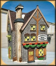 Kingsford's Brew House NEW Department Dept. 56 Dickens Village D56 DV