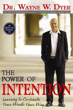 The Power of Intention by Dr. Wayne W. Dyer is a powerful and highly instructive piece that is worthy of not just reading, but reading again and again. The audiobook is also good, although it is abridged. Books To Read, My Books, A Course In Miracles, Inspirational Books, Book Authors, Love Book, Great Books, Book Lists, Self Help