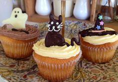 Birdseed Halloween Cupcakes. Lots of fun - spooky and cute!  #glutenfree