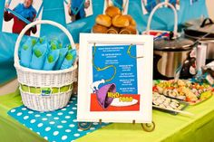Dr. Seuss Themed Teacher Appreciation Celebration - Kara's Party Ideas - The Place for All Things Party