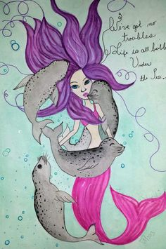 We've got no troubles, life is all bubbles, Under the Sea.