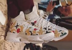 2873a24b484 This Nike LeBron 15 Comes With Floral Embroidery On Its BattleKnit Upper  Fashion Shoes