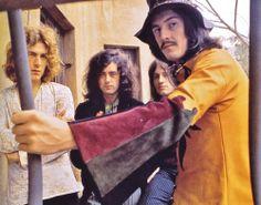 Robert , Jimmy, John Paul and Bonzo