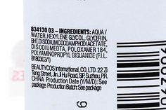 Ingredients of Maybelline Micellar Water Cleansing Water, Micellar Water, Maybelline, Skincare, Feelings, Skincare Routine, Skins Uk, Skin Care, Asian Skincare