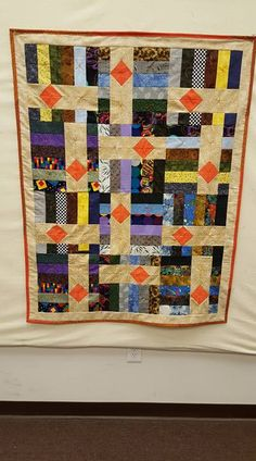 pattern is from Daniella Stout and Cozy Quilts, called Drop Diamonds