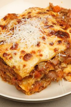 Crock Pot Lasagna (Weight Watchers)