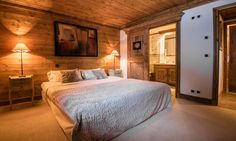 Chalet Hermine is a luxury ski chalet in Courchevel 1850 exclusively run by Kaluma Ski. A traditional 6 bedroom chalet with hot tub. Bedroom With Ensuite, Double Bedroom, Master Bedroom, Indoor Jacuzzi, Jacuzzi Hot Tub, Courchevel 1850, Small Spa, Cosy Interior, Open Fireplace