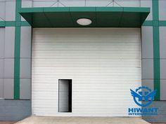 White color powder coating aluminium profile for large roller shutter doors of warehouse.