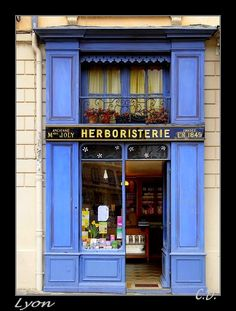 """Herboristerie, Place Saint Jean Cathedral in front of the """"Vieux Lyon"""" Boutiques, Store Front Windows, Museum Hotel, Shop Facade, Lyon France, Shop Fronts, Shop Around, Rhone, Cafe Restaurant"""