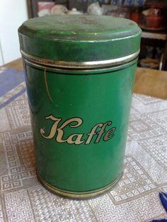 Old Swedish coffee tin