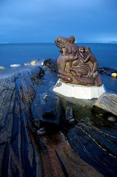 Mother of the Sea in Nuuk, Greenland