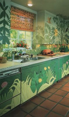 8 Outrageous '80s Kitchens | A unexpected dose of kitchen inspiration from a very outrageous decade of design. Eighties design is a fascinating subject of study because of the peculiar arc it's taken recently: from despised and reviled to avant-garde cool, all within the space of a very short period of time.