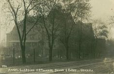 Medical – Misc Buildings – Chicago History In Postcards Angel Guardian Orphanage 1908