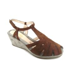 Beautifeel Candy Wedge - Brown #beautifeel #platform wedges