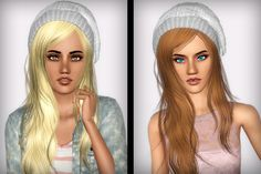 XM Sims Flora's hair 11 retextured by FaA - Sims 3 Downloads CC Caboodle
